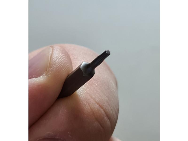 Torx screw bit